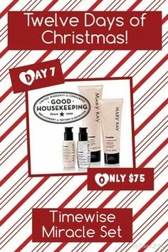 On the 7th Day of Christmas, my Mary Kay Consultant gave to me. www.marykay.com/orhile