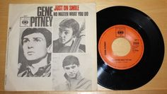 """GENE PITNEY - Just one Smile + No matter what to do - Vinyl 7"""" - CBS"""