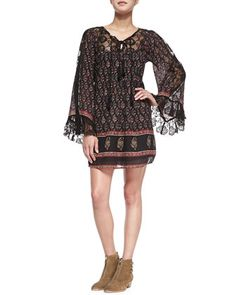 Nomad Child Floral-Print Voile Dress by Free People at Neiman Marcus.