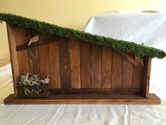 A personal favorite from my Etsy shop https://www.etsy.com/listing/484939317/wooden-christmas-creche