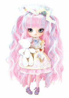 """Pullip Dolls Dal Heart Macaron x Mitsukazu x Angelic Pretty 10"""" Fashion Doll Accessory by Pullip Dolls. $159.99. Japanese Gothic, Angelic Pretty, h.naoto, Black Peace Now, Innocent world Alice in the Pirate. Big Head, Japanese, Asian, Anime, Manga, Gorgeous, Gothic, Fashion Doll, Blythe, Doll, Collectible. Pullip, DAL, Byul, Taeyang, Isul. From the Manufacturer Limited edition toy doll is fully articulated. Comes with unique face makeup, outfit and accessor..."""