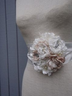 A personal favorite from my Etsy shop https://www.etsy.com/listing/217148712/bridal-belt-bridal-sash-wedding