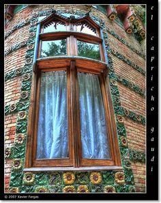 El Capricho de Gaudí - Comillas . Spain. / RESTAURANTE 'EL CAPRICHO DE GAUDÍ', COMILLAS