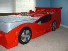 Racecar Bed Made To Order And Handpainted For You - You Pick The Race Car Color…