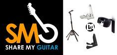 ENTER NOW!!  Win 4 unique guitar stands and guitar hanger from D&A Guitar Gear & SMG @sharemyguitar ! Go to:   http://sharemyguitar.com/contest