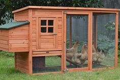 LARGE Chicken Coop Rabbit Hutch Ferret Cage Hen Chook House  from ezysales.com.au