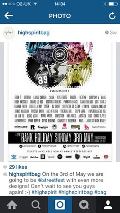 This Sunday we will be at  streetfest at Tobacco Dock 9b167e8d2a1a