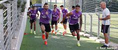 صور | ريال مدريد ينهي مرانه الثاني هذا الأسبوع