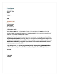 Simple cover letter | misc. | Pinterest | Simple cover letter ...