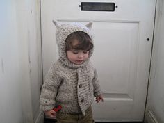 Knitted sweater - reminds me of Max in Where The Wild Things Are