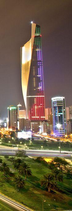 Lights Of Kuwait City, Kuwait