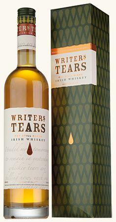 Writer's Tears Irish Whiskey. Sounds like something I'd like to try.