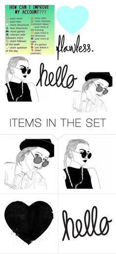 """Read D‼️‼️"" by cayfashion ❤ liked on Polyvore featuring art"