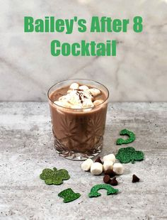 Are you a fan of drinks made with Bailey's Irish Cream? Try this Bailey's After 8 Cocktail for St. Patrick's Day. It's rich, and creamy with a hint of sweetness. #baileysdrinks #baileysirishcream #cocktails #over21 Baileys Cocktails, Baileys Irish Cream, Great Desserts, Craft Cocktails, Dessert Drinks, Food Themes, Cream Recipes, Tasty, Community
