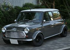 We are off to Japan with this next Wide Arched Wednesday Mini & boy what a gorgeous Mini it is too! Classic Mini, Classic Cars, John Cooper Works, Mini Cooper S, Mini Me, Car Car, Madness, Auto Mini, Automobile