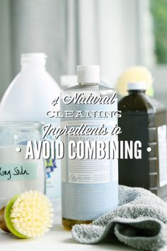 Natural Ingredients to Avoid Combining: Why You Need to Avoid Castile Soap, Vinegar, Baking Soda, and Hydrogen Peroxide!