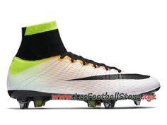 sports shoes bf358 62999 Nike Mercurial Superfly SG-PRO Chaussure de football à crampons pour terrain  gras pour Homme