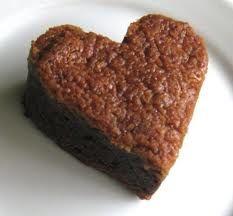 Cocinando Rápido y Facil: brownies especiales de san valentin.