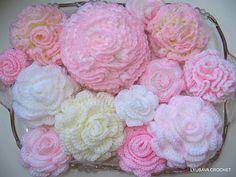 Ravelry: Carnation Flower Tutorial Crochet Pattern pattern by Lyubava Crochet @Af's 1/3/13