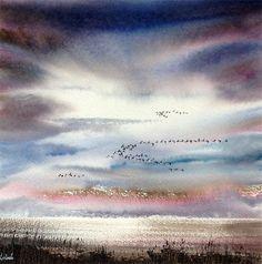 Cley Flight by Keith Nash