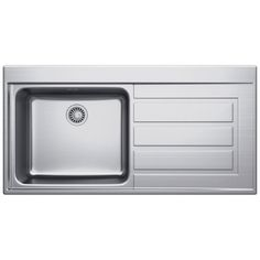 Franke Planar PPX 211 Inset 1.0 Bowl Kitchen Sink Stainless Steel ...