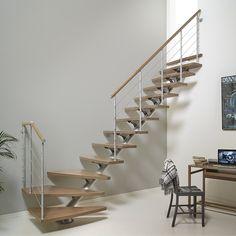 Escalier à volée Plume