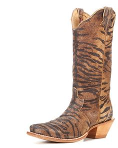 Womens Steppin Out Square Toe 13, Tiger