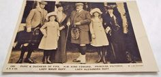 King Edward VII & Family - Antique Vintage c1905 Postcard King Edward Vii, Postcards, Royalty, Antiques, Amp, Vintage, Royals, Antiquities, Antique