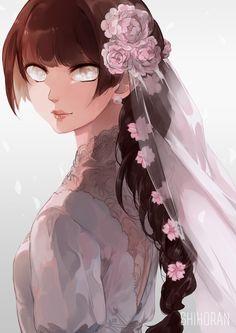 Bride, shiho ran Hinata Hyuga, Sasunaru, Sasuhina, Sasuke, Naruto Shippuden, Manga Anime, Anime Art, Naruto Girls, Anime Girls