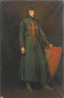 Amaury VI de Montfort (v. 1195 † 1241), comte de Montfort, comte de Toulouse, vicomte d'Albi, vicomte de Béziers et de Carcassonne, connétable de France. Le 14 janvier 1224, assiégé à Carcassonne par Raimond II Trencavel. Il cède à Louis VIII le Carcassès et l'Albigeois. Il se rend ensuite auprès du roi de France et en février lui cède ses droits sur le comté de Toulouse