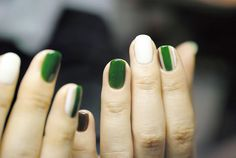 Would be cute for St. PATRICK'S DAY.  Nail-Common Tokyo JAPAN http://news.nail-common.com