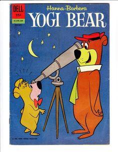 Yogi Bear Comic Book Cover