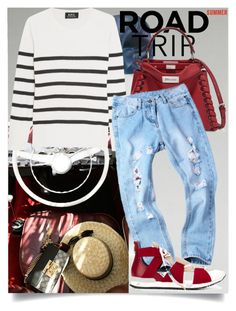 """Summer Road Trip"" by skad183 on Polyvore featuring A.P.C., Fendi and Vionnet"