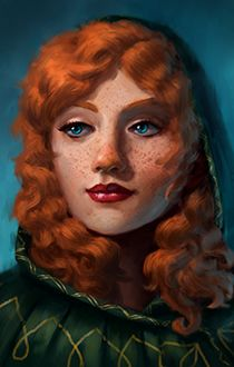 Portraits for BG from Pillars of Eternity - Page 4 High Fantasy, Fantasy Rpg, Medieval Fantasy, Female Character Concept, Character Art, Character Design, Character Ideas, Fantasy Portraits, Character Portraits