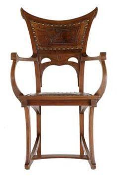 Art Nouveau Art Nouveau Furniture And Chairs On Pinterest