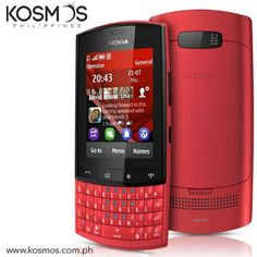 Touch or Type? With the Nokia Asha 303, you do both - touch to browse the web and use your apps, and type to text, chat and mail for exchange.    http://www.kosmos.com.ph/product/20350037/nokia-asha-303-smartphone-red