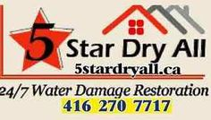 24/7 Flood and Water damage Restoration Services in GTA
