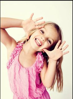 Mia talerico (good luck Charlie) she is the cutest little girl if I ever have a daughter I hope she is like her