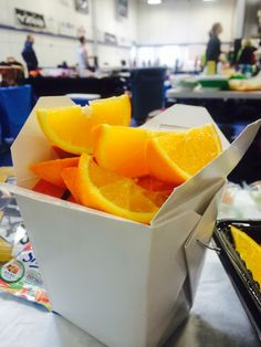 #12 Favorite pre-game snack! Confucius say orange slice bring more luck than fortune cookie. #youcouldwin