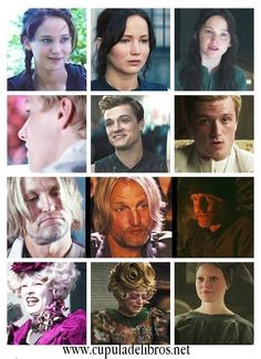 Cast<No, ships. Katniss and Peeta, Effie and Haymitch.