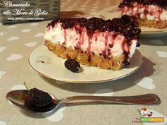 Cheesecake alle more di gelso: un raccolto meraviglioso e la mia principessa ai fornelli  #ricette #food #recipes
