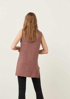 Camiseta jaspeada  - Camisetas de Mujer | MANGO España