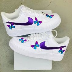 Cute Nike Shoes, Cute Nikes, Nike Shoes For Sale, Jordan Shoes Girls, Girls Shoes, Souliers Nike, Nike Shoes Air Force, Swag Shoes, Lit Shoes