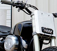 Gas Monkey Garage Harley Sportster Raffle at Cyril Huze Post – Custom Motorcycle News Tracker Motorcycle, Motorcycle Headlight, Motorcycle News, Honda Ruckus, Honda Cb750, Street Tracker, Custom Headlights, Dirt Bike Gear, Bike Details