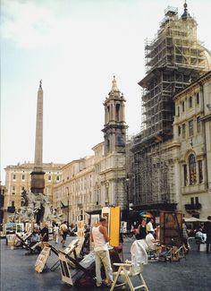 Rome, Italy. Piazza Novana.