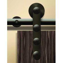 Hafele 941 07 184 Dark Bronze Antra I Series 71 Inch Stainless Steel Barn Door Hardware For Wood Doors In 2020 Steel Barns Hafele Barn Door Hardware