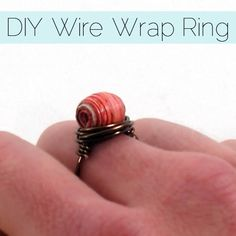 Easy Peasy Wire Wrap Ring Tutorial