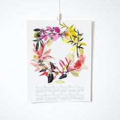 Katie Vernon Calendar (13 Midwest Made Calendars for 2015 - The Midwestival)