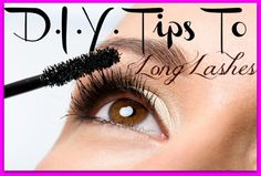 Who Needs Fake Eyelashes..When You Have These Savvy DIY Tips For Long Eyelashes, By Barbies Beauty Bits. #DIY, #makeuptips