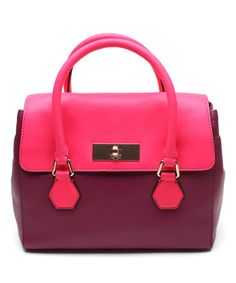 Another great find on #zulily! Moody Plum Catherine Street Joanie Leather Satchel #zulilyfinds